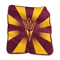 Logo Brand Arizona State Sun Devils Raschel Throw Blanket