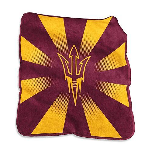 Logo Brand Arizona State Sun Devils Raschel Throw Blanket