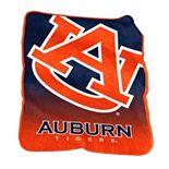 Logo Brand Auburn Tigers Raschel Throw Blanket