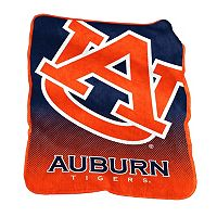 Logo Brand Auburn Tigers Raschel Throw Blanket