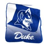 Logo Brand Duke Blue Devils Raschel Throw Blanket