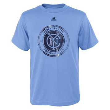 Boys 8-20 adidas New York City FC War Paint Tee