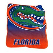 Logo Brand Florida Gators Raschel Throw Blanket