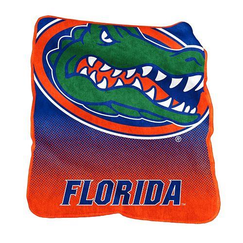 Logo Brand Florida Gators Raschel Throw Blanket