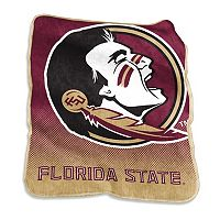 Logo Brand Florida State Seminoles Raschel Throw Blanket