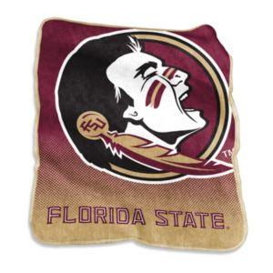 Logo Brand Florida State Seminoles Raschel Throw Blanket