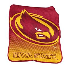 Logo Brand Iowa State Cyclones Raschel Throw Blanket