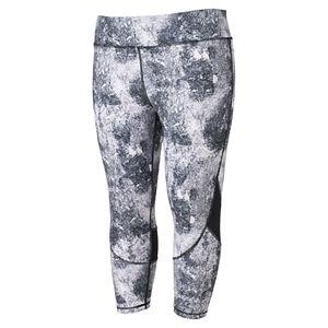 Juniors' Plus Size SO® Print Yoga Capri Leggings
