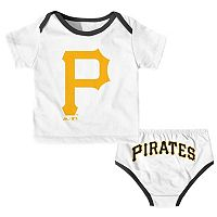 Baby Majestic Pittsburgh Pirates Uniform Set