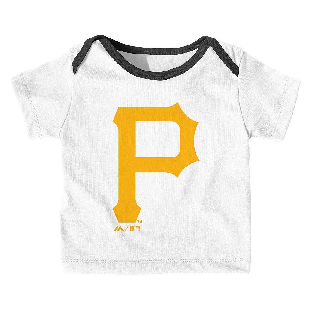 Baby Majestic Pittsburgh Pirates Uniform Set