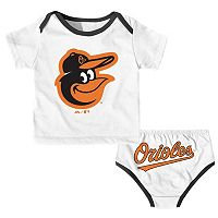 Baby Majestic Baltimore Orioles Uniform Set