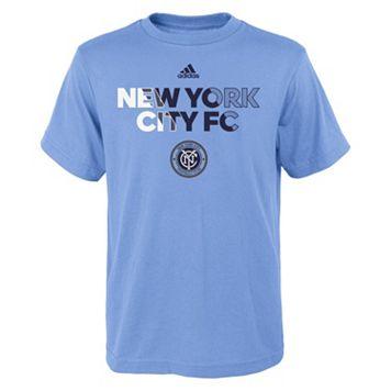 Boys 8-20 adidas New York City FC Striker Tee