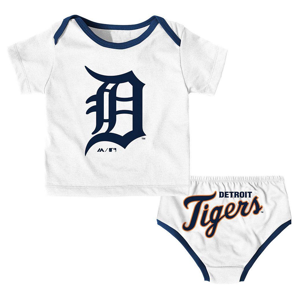 Baby Majestic Detroit Tigers Uniform Set