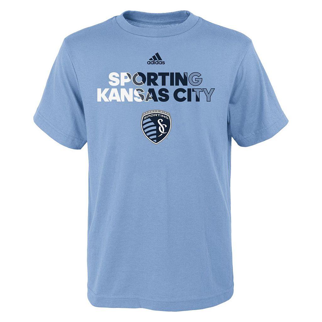 Boys 8-20 adidas Sporting Kansas City Striker Tee