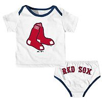 Baby Majestic Boston Red Sox Uniform Set