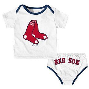 Baby Majestic Boston Red Sox Uniform Set