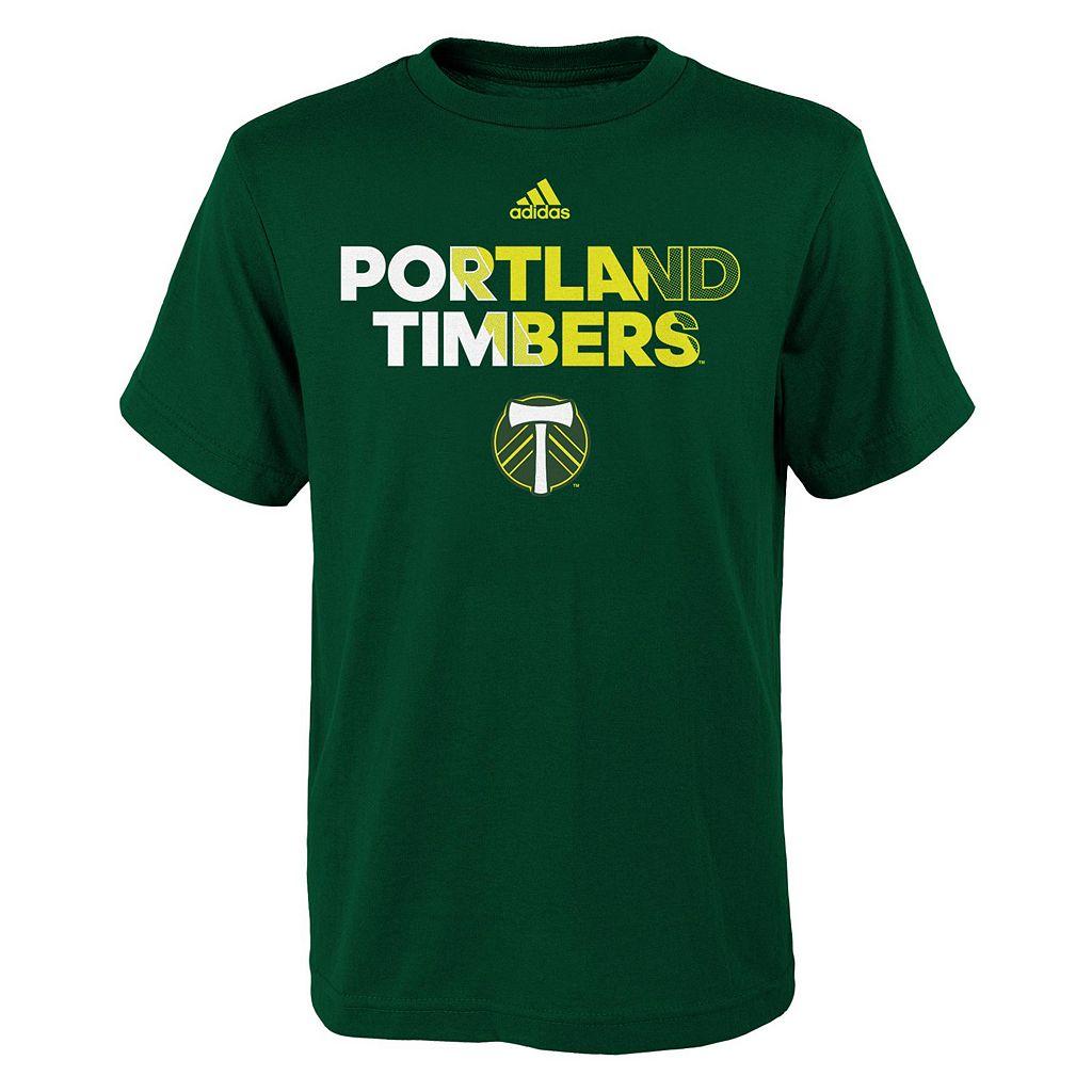 Boys 8-20 adidas Portland Timbers Striker Tee
