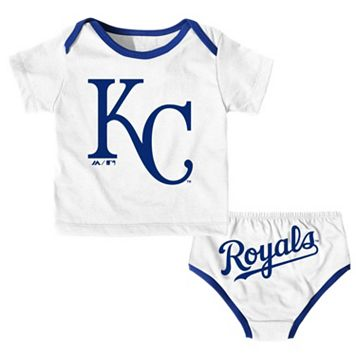 Baby Majestic Kansas City Royals Uniform Set