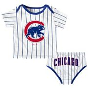 Baby Majestic Chicago Cubs Uniform Set