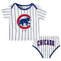Baby Majestic Chicago Cubs Uniform Set
