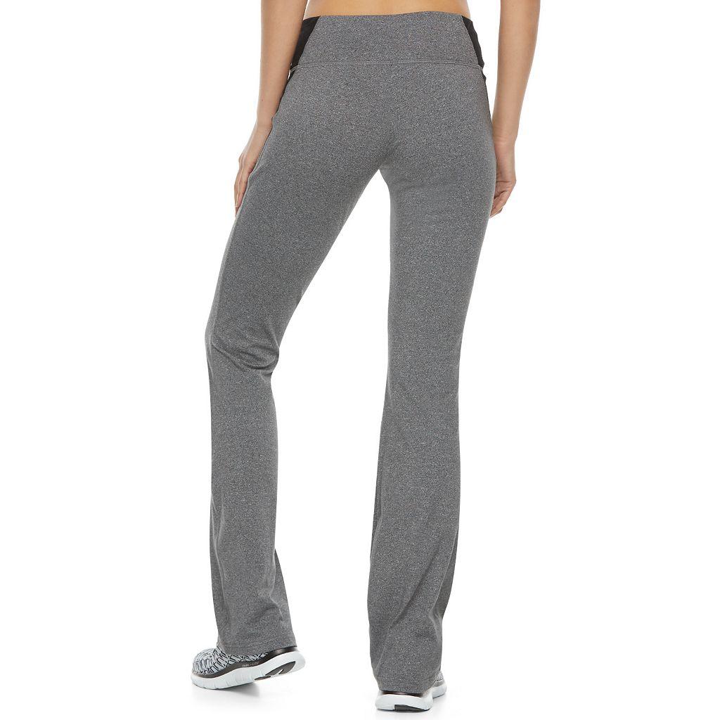 Juniors' SO® Pieced Skinny Bootcut Yoga Pants