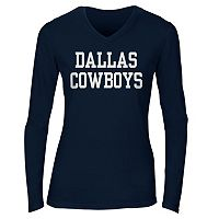Women's Dallas Cowboys Coaches Tee
