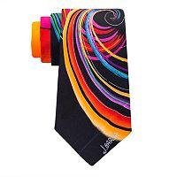 Men's Jerry Garcia Silk Tie & Collector's Pin Set