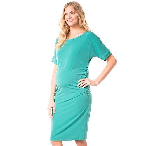 Maternity Pip & Vine by Rosie Pope Dolman T-Shirt Dress