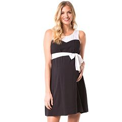 Maternity Pip & Vine by Rosie Pope Colorblock Dress