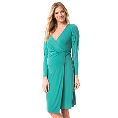 Maternity Pip & Vine by Rosie Pope Wrap Dress