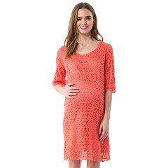 Maternity Pip & Vine by Rosie Pope Lace Shift Dress