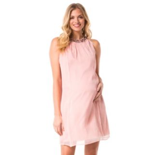 Maternity Pip & Vine by Rosie Pope Embellished Shift Dress