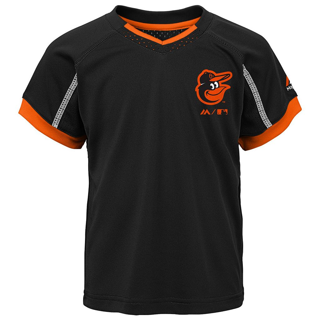 Toddler Majestic Baltimore Orioles Legacy Tee & Shorts Set