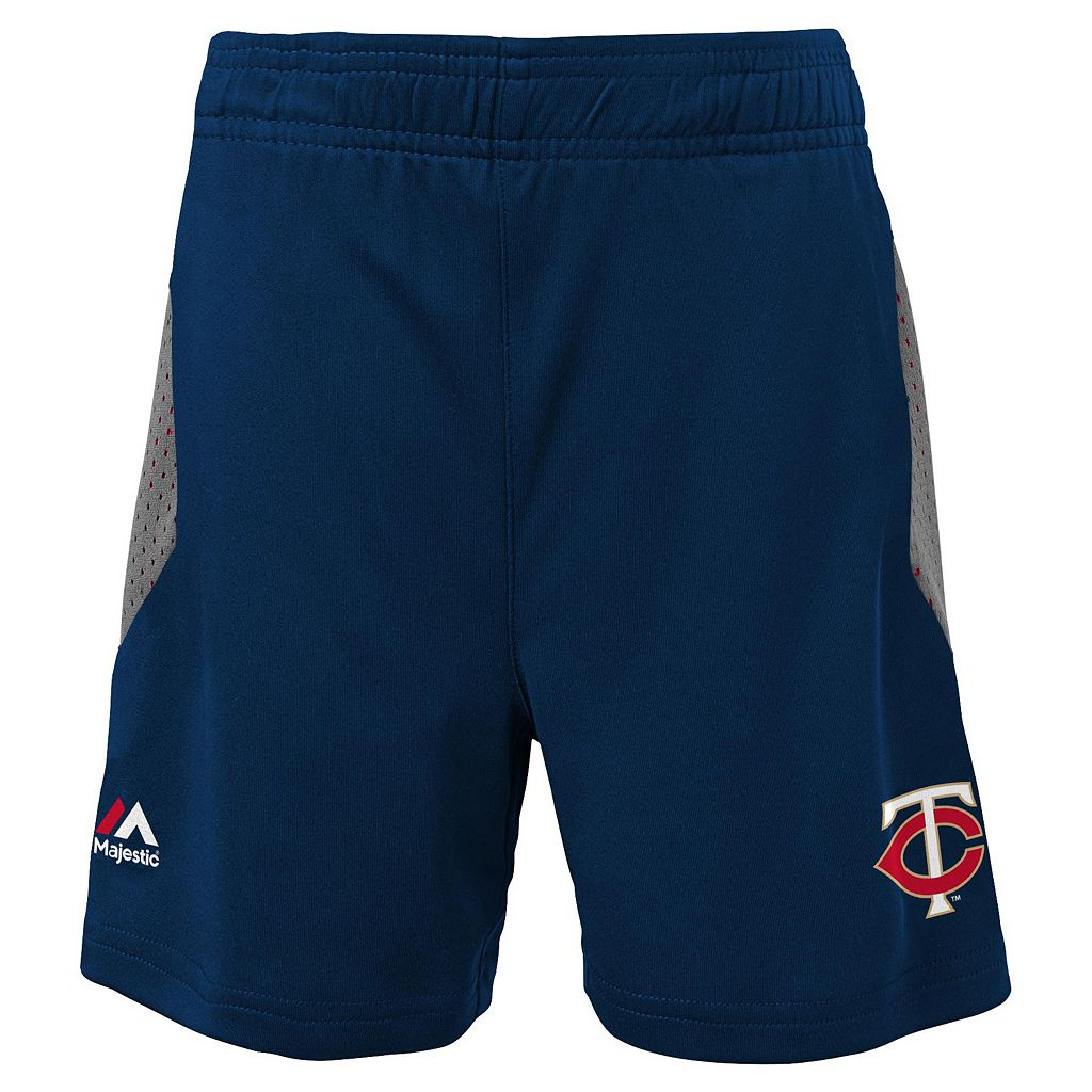 Toddler Majestic Minnesota Twins Legacy Tee & Shorts Set