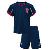 Toddler Majestic Boston Red Sox Legacy Tee & Shorts Set
