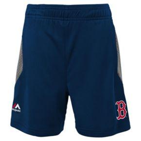 Toddler Majestic Boston Red Sox Legacy Tee & Shorts Set