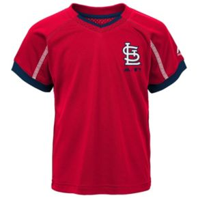 Toddler Majestic St. Louis Cardinals Legacy Tee & Shorts Set