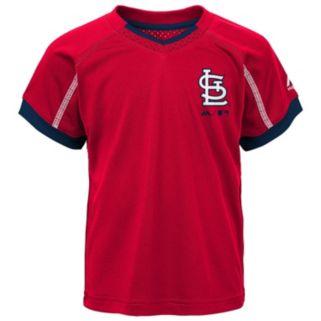 Toddler Majestic St. Louis Cardinals Legacy Tee & Shorts Set