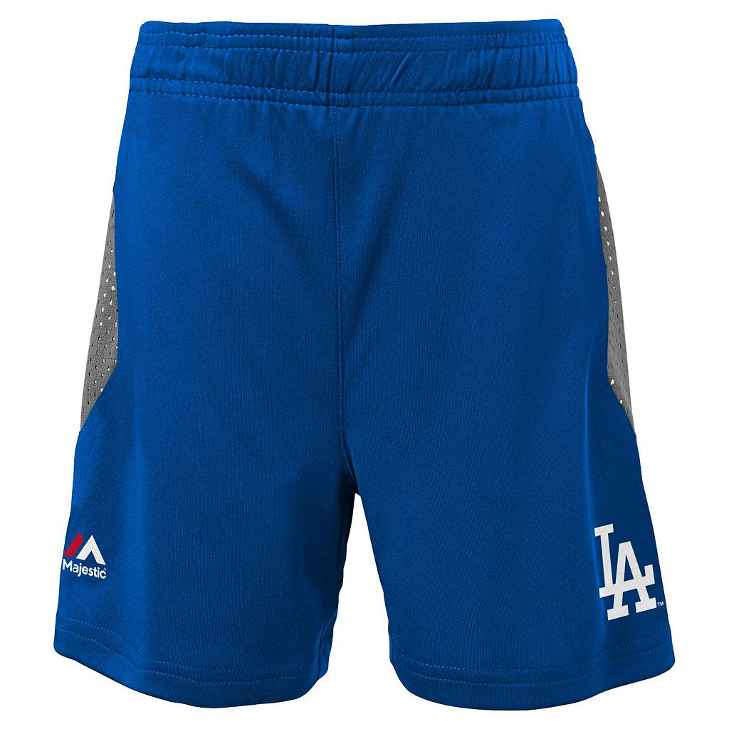 Toddler Majestic Los Angeles Dodgers Legacy Tee & Shorts Set