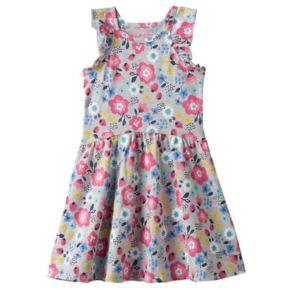 Toddler Girl Jumping Beans® Print Ruffle Dress