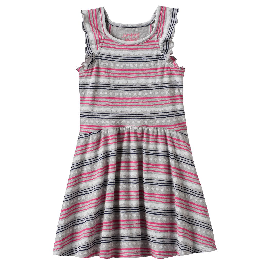 Toddler Girl Jumping Beans® Print Ruffle Dress