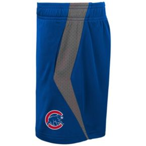 Toddler Majestic Chicago Cubs Legacy Tee & Shorts Set