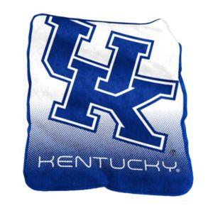 Logo Brand Kentucky Wildcats Raschel Throw Blanket