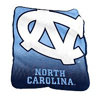 Logo Brand North Carolina Tar Heels Raschel Throw Blanket