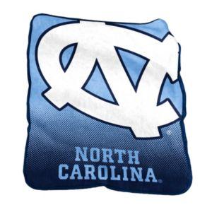 Logo Brand North Carolina Tar Heels Raschel Throw Blanket