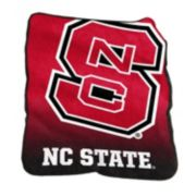Logo Brand North Carolina State Wolfpack Raschel Throw Blanket