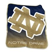 Logo Brand Notre Dame Fighting Irish Raschel Throw Blanket