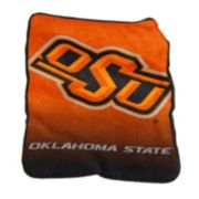 Logo Brand Oklahoma State Cowboys Raschel Throw Blanket