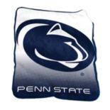 Logo Brand Penn State Nittany Lions Raschel Throw Blanket