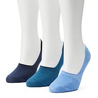 Women's SONOMA Goods for Life™ 3-pk. Low-Cut Non-Slip Liner Socks